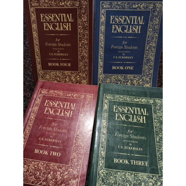C. E. Eckersley - Essential English for Foreign Students, 4 vol.