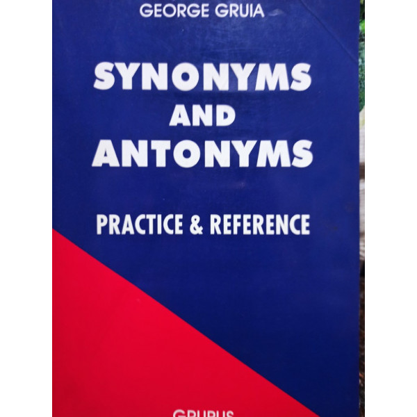 George Gruia - Synonyms and antonyms