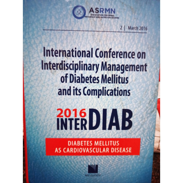 International Conference on Interdisciplinary Management of Diabetes Mellitus and its Complications