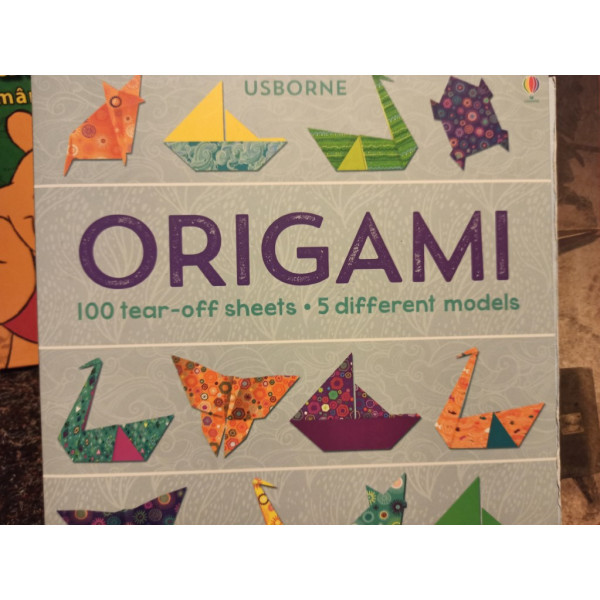 Origami - 100 tear-off sheets, 5 different models